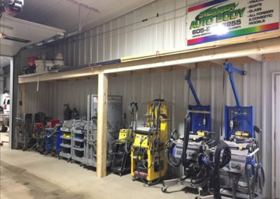 Equipment storage 1