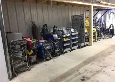 Equipment storage 2